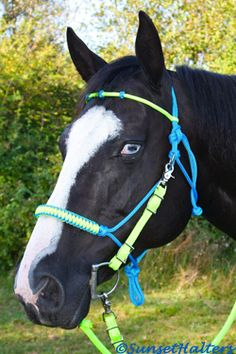 I'm going to make that piece to attach to my rope halters for a spare when I'm trail riding