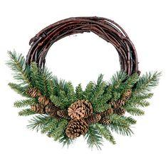Alice Grapevine Wreath