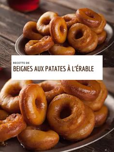 Potato Doughnuts Recipe, Donut Recipes, Dessert Recipes, Biscuits, Beignets, Creative Food, Donuts, Sweet Treats, Pains