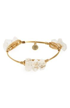 Bourbon and Boweties Triple Stone Bracelet available at #Nordstrom