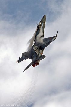 Spanish Air Force F/A-18 Hornet...I would love to ride in one some day.