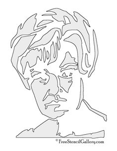 jessica lange pumpkin carving stencil | American Horror Story - Constance Langdon Stencil | Free Stencil ...
