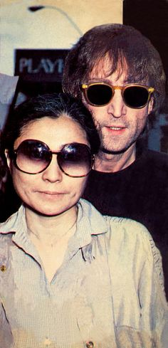 John Lennon and Yoko Ono John Lennon And Yoko, Imagine John Lennon, Life Is What Happens, Cinema, Yoko Ono, The Fab Four, Mick Jagger, Lady And Gentlemen, All You Need Is Love