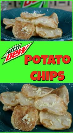 Mountain Dew Potato Chips See how to make these Mountain Dew Potato chips. These are made by making a liquid flavoring into a powder flavor. How To Make Homemade, How To Make Cake, Homemade Chips, Soda Drink, Snack Items, Food Fantasy, Morning Dew, Canned Chicken, Interesting Recipes