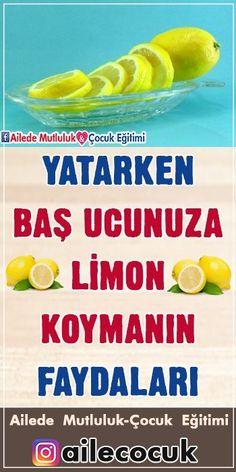 Yatarken Baş Ucunuza Limon Koymanın Faydaları!