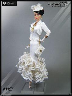 Tenue Outfit Accessoires Pour Barbie Silkstone Vintage Fashion Royalty 1169 | eBay