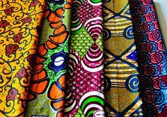 www.cewax.fr aime la boutique de TessWorldDesigns sur Etsy / Fabric Bundle  African fabrics  Fat quarter by TessWorldDesigns