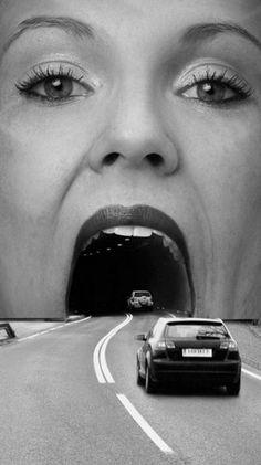 "Billboard: Advertisement campaign by ""Oldtimer"" Restaurants (Austrian chain of motorway rest stops). °"
