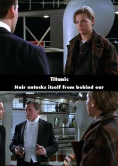 20 Titanic Movie Mistakes - Again, where's my stylist!