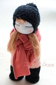 Grace--#239 sock doll