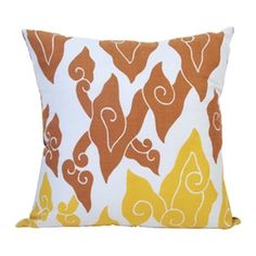 Lianhua Batik Mega Pastel Cushion Cover