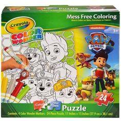 Crayola Color Wonder Paw Patrol Puzzle [24 Pieces]
