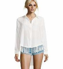 boohoo Juliet Open Side Tassle Trim L/S Shirt - ivory This shirt heightens the drama with its dip back hem and tassel trim, transforming tailored with a trend-led twist. Style this statement separate with distressed denim shorts and holographic cleated s http://www.comparestoreprices.co.uk/womens-clothes/boohoo-juliet-open-side-tassle-trim-l-s-shirt--ivory.asp