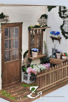 Miniature Rooms, Miniature Crafts, Miniature Fairy Gardens, Miniature Houses, Tiny Furniture, Miniature Furniture, Dollhouse Furniture, Doll House Plans, Mini Doll House