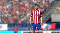 Los jugadores del Atlético de Madrid han sido escaneados en 3D para  FIFA14  ¡David Villa en FIFA 14! e8910aaa6