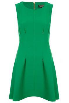 Seam Waist Shift Dress by Topshop