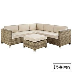 Enjoy your outdoor space with our range of outdoor furniture & outdoor dining sets to suit any home. Shop online for fast shipping & our price beat guarantee. Outdoor Dining Set, Outdoor Chairs, Outdoor Living, Outdoor Furniture Sets, Corner Sofa Set, Foot Rest, Amalfi, Wicker, Ottoman