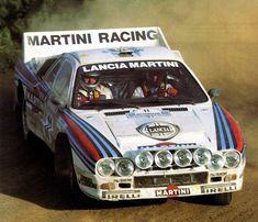 Henri Toivonen - Juha Piironen  31º Rally Acrópolis 1984. Lancia Rally 037 Evo. Retirado por accidente.