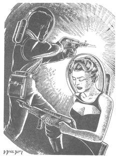 1950s Sci-Fi Illustration