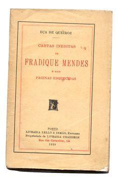 Cartas Inéditas de Fradique Mendes | VITALIVROS