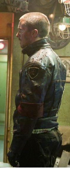 Cool overhauled B3 Flight jacket