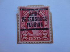 "2 Washington "" Petersburg"" Historical USA Postage Stamp"