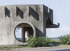 Christopher Herwig Photographer » Soviet Bus Stops