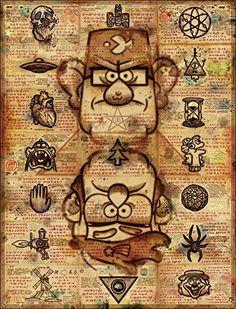 Gravity Falls - Secret Messages Poster The Mystery Shack https://www.amazon.com/dp/B01C966FBK/ref=cm_sw_r_pi_dp_TBwGxbBR7J0WW
