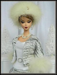 OOAK Holiday Fashion for Silkstone/Vintage Barbie & Fashion Royalty Dolls~Joby