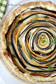 Spiraltærte (på engelsk)