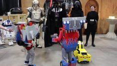 Transformers Kids vs. Darth Vader