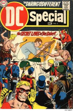 Joe Kubert cover of DC Special comic book from 1970s; great reprints, collections, spotlight series, special time, Bronze Age