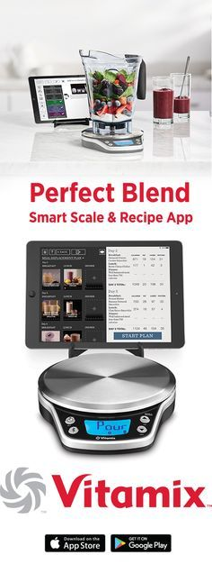 Download the vitamix cookbook by jodi berg pdf ebook kindle the meet the perfect blend smart scale and recipe app from vitamix powered by perfect company forumfinder Images