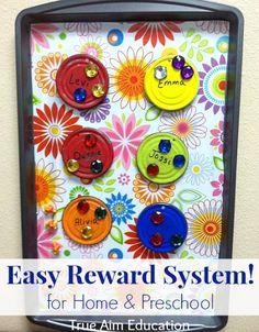 Simple Reward System for home or preschool!