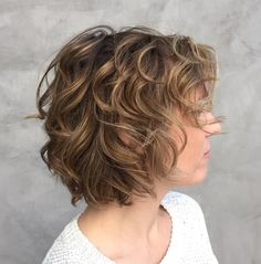 shag haircuts fine hair your most gorgeous looks - Fresh Haircuts for Thin Curly Hair, 25 Beautiful Haircuts for Curly Long Hair to Get Distinctive Haircuts for Thin Curly Hair Thin Curly Hair, Bobs For Thin Hair, Blonde Curly Hair, Curly Short, Curly Angled Bobs, Blonde Curls, Short Bangs, Medium Curly, Frizzy Hair