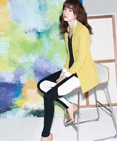 Foto Han Hyo Joo di Katalog Fashion Viki's Edisi Musim Semi 2013