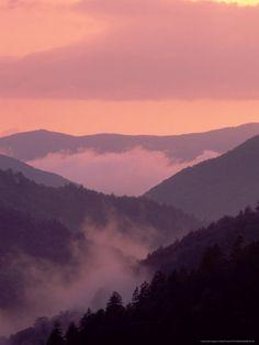 Sunset after Rain, Great Smoky Mountains National Park