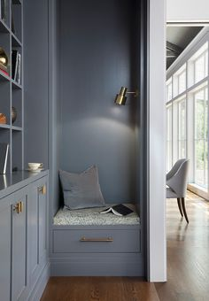 Moody blue grey buil
