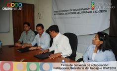 Firma de Convenio con ICATECH
