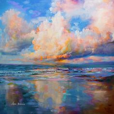 What is Your Painting Style? How do you find your own painting style? What is your painting style? Acrilic Paintings, Seascape Paintings, Oil Painting Abstract, Acrylic Painting Canvas, Canvas Art Prints, Landscape Paintings, Oil Paintings, Acrylic Landscape Painting, Simple Oil Painting