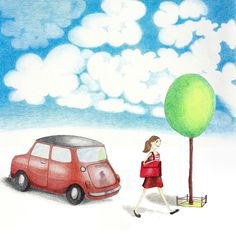 MiniMädchen_low Illustration, Toys, Car, Activity Toys, Automobile, Clearance Toys, Illustrations, Gaming, Games