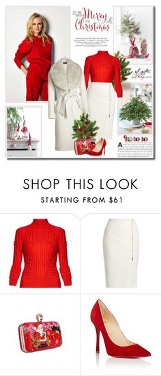 """""""Have yourself a Merry little Christmas!!"""" by lilly-2711 ❤ liked on Polyvore featuring Mary Katrantzou, MaxMara and Christian Louboutin"""