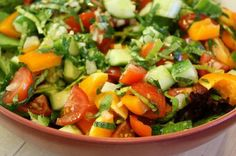 Clean Greek Salad