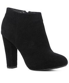 block heel ankle boot new look