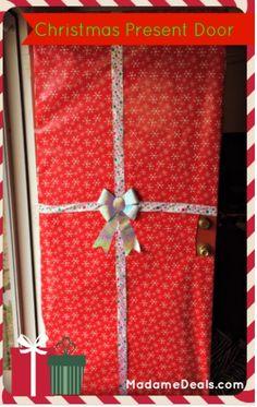 Christmas Present Door