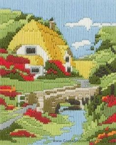 Summer Days Long Stitch Kit by Anchor