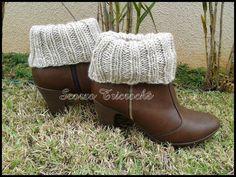 Scorzo Tricroche: Boot cuffs - Polaina/Punho para botas com receita 2 em 1