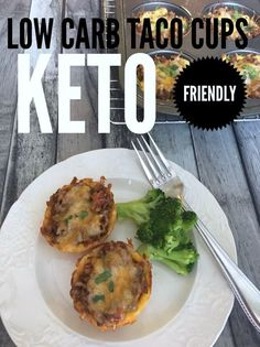 Low Carb Taco Cups / Keto Taco Cups / Low Carb Mexican / Keto Recipe / Low Carb Recipe / Keto easy recipe