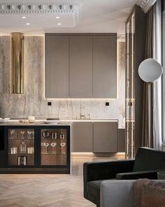Home Decor Items Luxury Kitchen Design, Kitchen Room Design, Luxury Kitchens, Home Decor Kitchen, Interior Design Living Room, Home Kitchens, Kitchen Ideas, Küchen Design, Layout Design