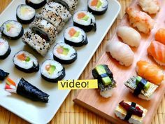 Penny pinch to payday ideas and more long term solutions to help you save the money you need! Sushi Recipes, Asian Recipes, Cooking Recipes, Curry Recipes, Vegetarian Recipes, Healthy Recipes, Sashimi Sushi, Sushi Love, Sushi Rolls